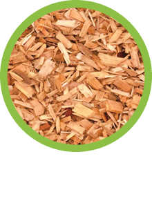 Fresh wood chip